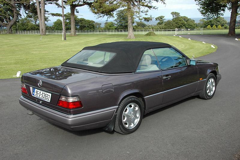 Sold 1995 mercedes benz e220 cabriolet w124 prestige for Mercedes benz seat belt purse