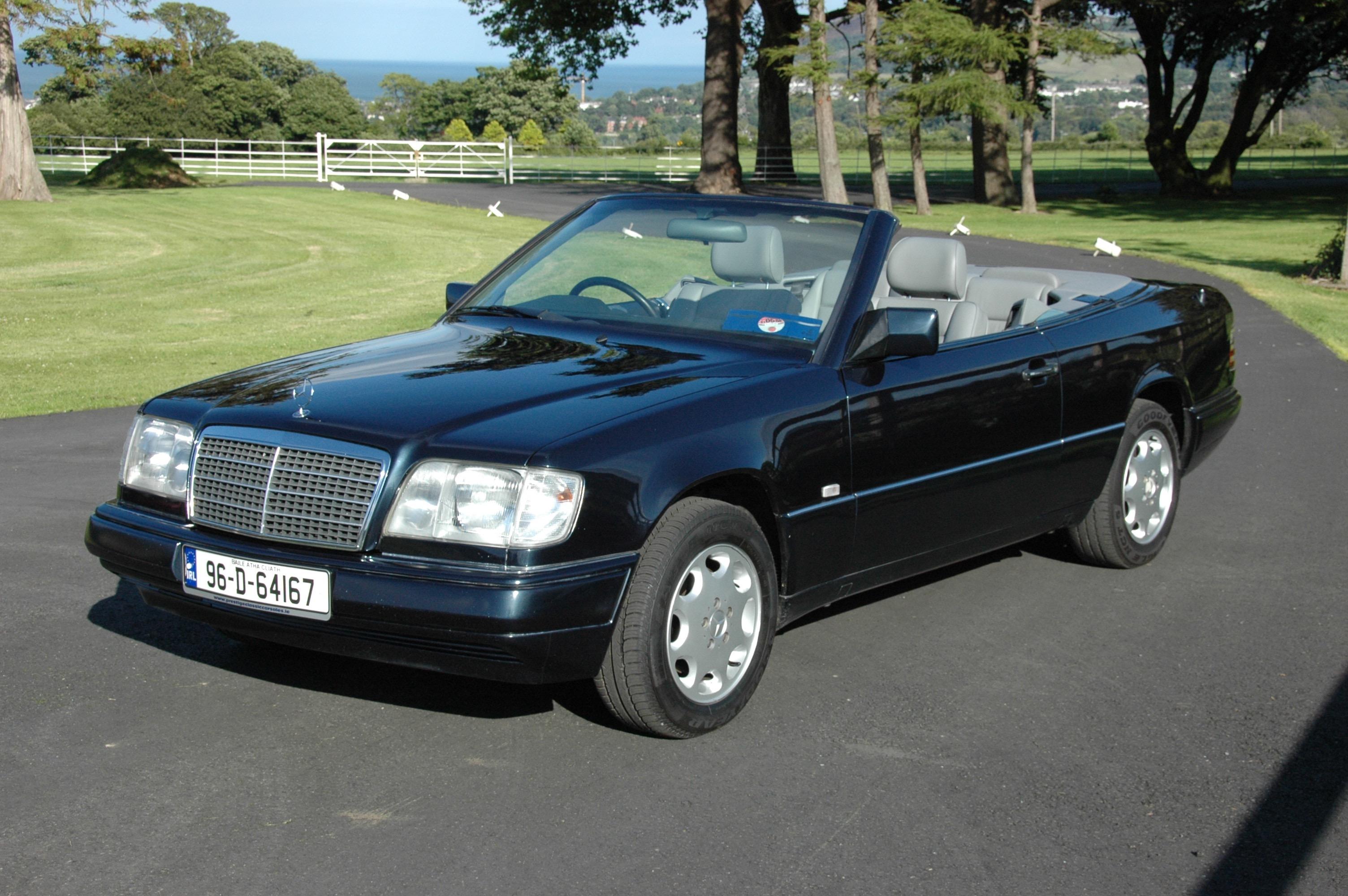 1996 mercedes benz e220 cabriolet w124 prestige classic cars. Black Bedroom Furniture Sets. Home Design Ideas